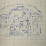 disegno guglielmo coronini gorizia